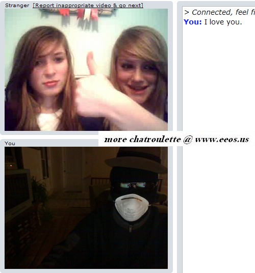 young girls on chat roulette